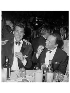 James Dashwood  Dean Martin and Frank Sinatra