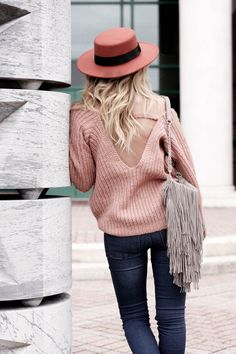 Dusty Pink Backless