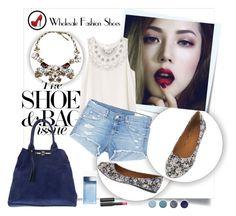 """""""Wholesale Fashion Shoes"""" by fashionb-784 ❤ liked on Polyvore featuring Post-It, RVCA, rag & bone/JEAN, Dolce&Gabbana, Terre Mère, Le Métier de Beauté, shoes, wholesale, fashionshoes and Wholesalefashionshoes"""