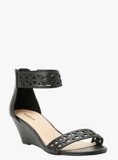 29d43aedaad Geometric Short Wedge Sandals (Wide Width)