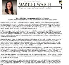 MarketWatch is in - home sale prices are still on the rise from 2013!  Check it out!