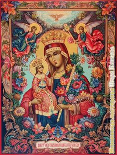 Blessed Mother Mary, Divine Mother, Blessed Virgin Mary, Religious Icons, Religious Art, Christian Artwork, Queen Of Heaven, Mama Mary, Holy Mary