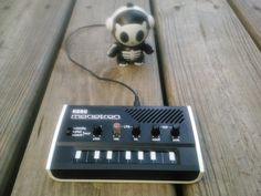 Korg Monotron and Headphonies