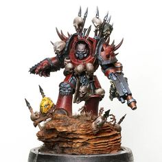 Chaos Legion, Chaos Lord, Warhammer 40k Miniatures, Photo And Video, Instagram, Painting, Costumes, Videos, Model
