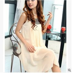 Heat!2016 Loose Sling Cotton Maternity Dress Comfortable Clothes for Pregnant  Women Plus Size Summer 364ed08d9f14