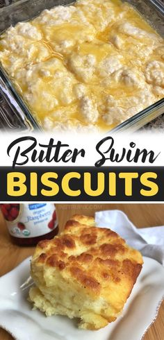 Seriously, it doesn't get any better than this. Biscuits literally baked in melted butter. So yummy! These quick and easy homemade biscuits are perfect for breakfast, lunch or dinner. Serve them with jelly or gravy in the morning, or as a side dish that compliments just about any meal. The best comfort food, ever! Great for special occasions and holidays. My family begs me to make these delicious buttery biscuits. They are so soft and moist on the inside with a flaky crust that is to die… Buttery Biscuits, Biscuits And Gravy, Healthy Gourmet, Gourmet Recipes, Cheesecake Fruit Salad, Best Homemade Biscuits, Best Comfort Food, Dessert For Dinner, Melted Butter