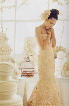 #bridal #wedding #dress #gown #lovely #CarySantiago