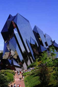 Kinémax Theater - Futuroscope Theme Park, designed by Denis Laming, central France, near city of Poitiers