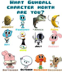 the amazing world of gumball characters names - Google Search