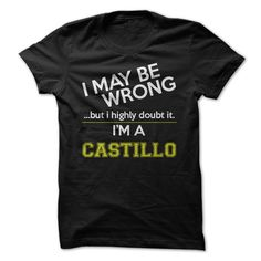 [Cool tshirt name meaning] Im a Castillo  Coupon 10%