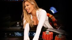 Ladies Night on Poker Night In America is winding down, and the players are looking for more action. Wine is poured, pots are juiced up, and bets are flying. World Poker Tour, Poker Hands, Poker Night, Ladies Night, Pots, Lady, Jars, Girls Night, Pottery