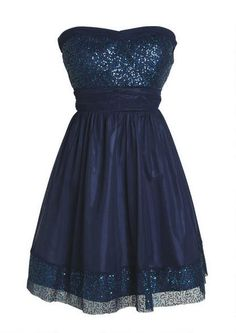 8th grade graduation dress....but since I already graduated grade 8....it's a cute dress for formals ,too......