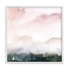 """Wake II"" - Art Print by Lindsay Megahed in beautiful frame options and a variety of sizes."