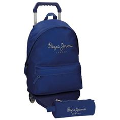 Pepe Jeans 66823M3 Harlow Mochilas Escolares, 42 cm, 22.79 litros, Azul: Amazon.es: Equipaje Fashion Backpack, Backpacks, Gifts, Bags, Red, Blue, School Backpacks, Baggage, Handbags