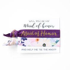 #plum #purple #violet #floral #blue #floralprint #bridesmaid #bride #wedding #party #favor #gift #idea