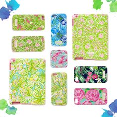 Lilly Pulitzer Tech Cases