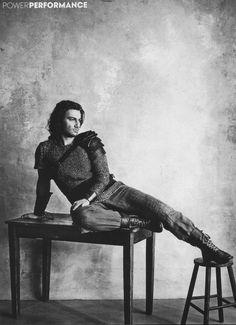 Jonas Kaufmann in Vogue as Sigmund.  Something bout guys named Jonas OML