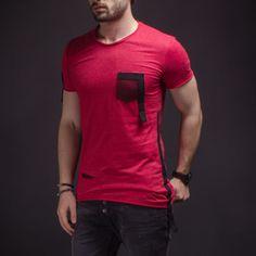 Disteressing Men's T-Shirt Oversized Filet Pocket Detail Fashion Slim Fit 2208 | Clothing, Shoes & Accessories, Men's Clothing, T-Shirts | eBay!