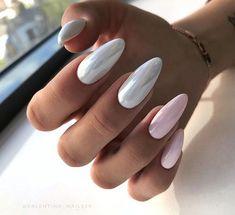 Nail Shapes - My Cool Nail Designs How To Do Nails, My Nails, Strong Nails, Healthy Nails, Super Nails, Almond Nails, Cool Nail Designs, Manicure And Pedicure, Natural Nails