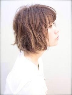 XELHA『東省吾』の大人かわいいボブパーマ