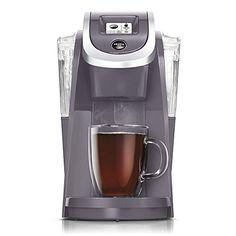Keurig K250 PLUS 2.0, Brewing System Single Serve Plus Coffee Maker, PLUM GRAY (Newest Color, Very Rare)