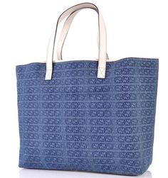 Gucci Denim Interlocking Blue Tote Bag. Get one of the hottest styles of the season! The Gucci Denim Interlocking Blue Tote Bag is a top 10 member favorite on Tradesy. Save on yours before they're sold out!