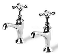 Kitchen Sink Pillar Taps - £234.00 - Hicks and Hicks