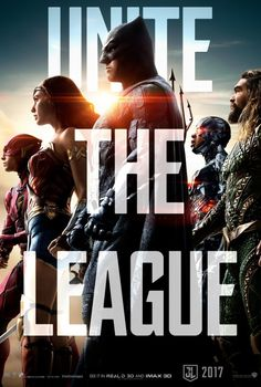 Justice League Movie Poster 2017