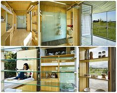 The Port-A-Bach container house. Built inside a 20´ container! #tinyhouse #smallspaces