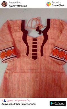 Chittoor nevk Chudidhar Designs, Churidhar Neck Designs, Neck Designs For Suits, Sleeves Designs For Dresses, Neckline Designs, Dress Neck Designs, Sleeve Designs, Salwar Kameez Neck Designs, Saree Blouse Neck Designs