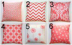 Premier Prints Coral Euro Sham Pillow Cover 26x26 by Modernality2, $31.95
