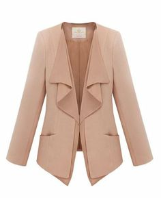 #SheInside Gossip Girl Solid Color Pink Suit