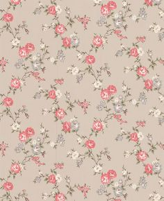 Graham & Brown Rose taupe/raspberry/cottage wallpaper on shopstyle.com.au