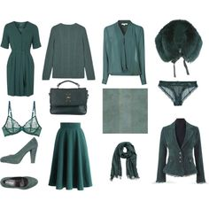 My color soft and cool by ananastya2008 on Polyvore featuring мода, Topshop, Glamorous, Chicwish, La Perla, PrimaDonna, Mulberry, Elie Saab, H&M and York Wallcoverings