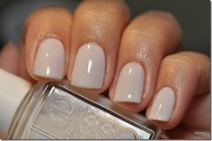 Marshmallow by Essie. Essie is the best nail polish! This is perfect for an everyday color Cute Nails, Pretty Nails, Hair And Nails, My Nails, Polish Nails, Nail Polishes, Gel Nail, Acrylic Nails, Essie Nail Polish Colors