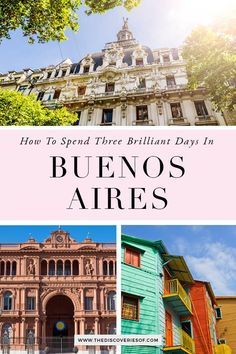 The Buenos Aires City Guide. Cool things to do in Buenos, Aires, Argentina. Explore colourful La Boca, find the best food and enjoy the city's hectic nightlife in this 3 day Buenos Aires guide. #travel #traveltips #southamerica #argentina Backpacking South America, South America Travel, Argentina Travel, Short Trip, Cheap Travel, Vacation Destinations, Nightlife, Adventure Travel, Travel Inspiration