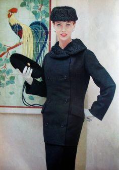 Fashion for La Femme Chic,1956.