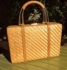 Vintage Woven Rodo Handbag from 1960's by HonoluluHeidis on Etsy