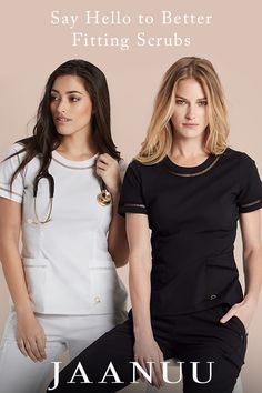 Women's best-selling scrubs tops, pants, underscrubs and lab coats in a variety of stylish designer collections. Available for all sizes, all fits and multiple colors and prints for medical professionals. Scrubs Outfit, Scrubs Uniform, Medical Uniforms, Nursing Uniforms, Stylish Scrubs, Cute Scrubs, Lab Coats, Medical Scrubs, Nursing Clothes