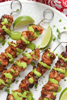 Juicy, tender grilled chicken, bursting with vibrant flavor. These Peruvian Grilled Chicken Skewers are a delicious fusion of South American and Asian cuisines! Grilled Chicken Tenders, Grilled Chicken Recipes, Grilled Meat, Grilled Vegetables, Chicken Kabobs, Grilled Fish, Grilling Recipes, Cooking Recipes, Healthy Recipes