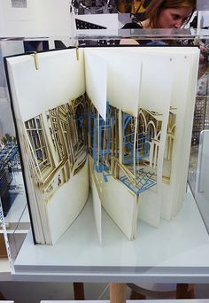 This is the annual celebration of student work at the Bartlett School of… Maquette Architecture, Architecture Sketchbook, Architecture Portfolio, Architecture Design, Design Despace, Book Design, Bartlett School Of Architecture, Arch Model, Handmade Books