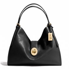 Madison Carlyle Shoulder Bag in Leather