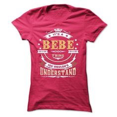 Awesome BEBE Tshirt blood runs though my veins