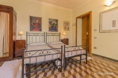 Bedroom. Sypialnia. Hotel. Como. Italia.