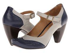Gabriella Rocha Indy Grey/Navy Leather - Zappos.com Free Shipping BOTH Ways