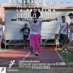 @Regrann from @ssfonlus -  Cosa rende un bambino davvero felice? Muoversi divertirsi giocare insieme. Crescere un passo per volta facendo sport con tanti nuovi amici lontano dalla strada per avere una vita sana e un futuro sereno.  Sostenere i nostri bambini non ti costerà nulla. Basta solo una firma. Dona il tuo 51000 a Sport Senza Frontiere: codice fiscale 97653510582.  @fionamay69 #FionaMay #SportSenzaFrontiere #campione #campioni #campionessa #campionesse #forzaragazzi #orgoglio #vincere…