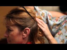 ▶ How to Style an Updo Over 50 - YouTube