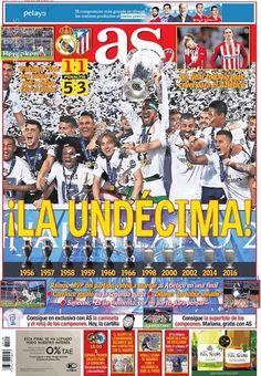 Rassegna stampa estero: Real Madrid, gloria interminabile - http://www.maidirecalcio.com/2016/05/29/rassegna-stampa-estero-29-maggio-2016.html