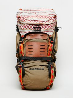 Chums Brown Sinawava 45 Backpack