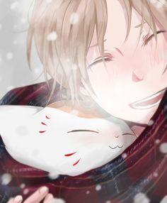 Natsume and Nyanko-sensei Anime Boys, Manga Anime, Manga Boy, Ashita No Nadja, Kuzu No Honkai, Natsume Takashi, Fulmetal Alchemist, Fan Art Anime, Hotarubi No Mori